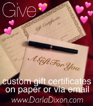 gift certificate for custom art portraits