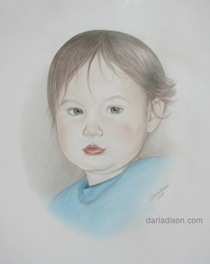colored pencil drawing picture boy art sketch